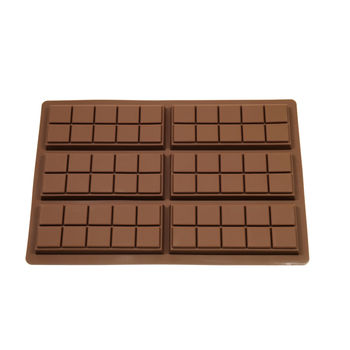 Ten Chunk Chocolate Bar Mould