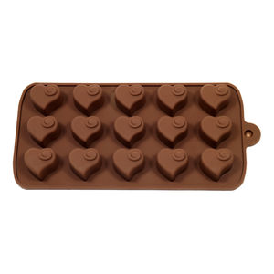 Heart Swirl Valentine's Chocolate Mould