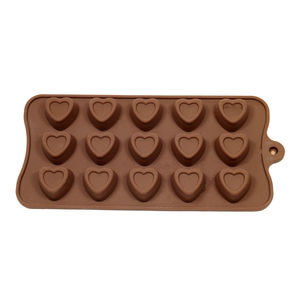 Indented Heart Valentine's Chocolate Mould - kitchen accessories