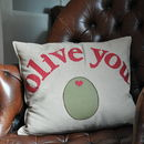 'Olive You' Iron On Fabric Letters: Create A Gift