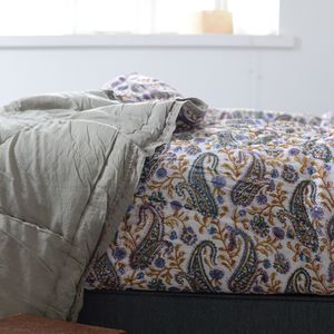 Cotton Edged Camomile Quilt - bedspreads & quilts