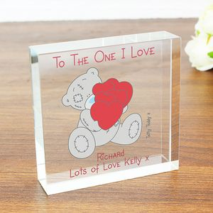 To The One I Love Personalised Message Token