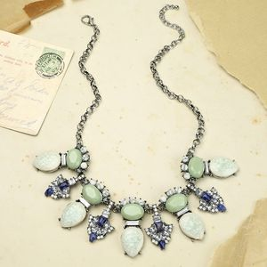 Ocean Statement Gem Necklace - statement jewellery