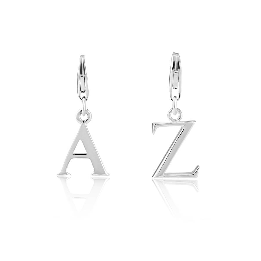 Sterling Silver Initial Pendant/Charm