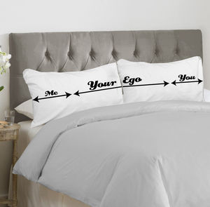 Family Personalised Bed Hogger Pillowcase Set - bedroom
