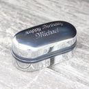 Chrome Box with optional engraving