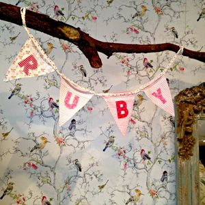 Personalised Bunting - party decorations