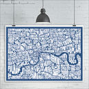 London Typography Map