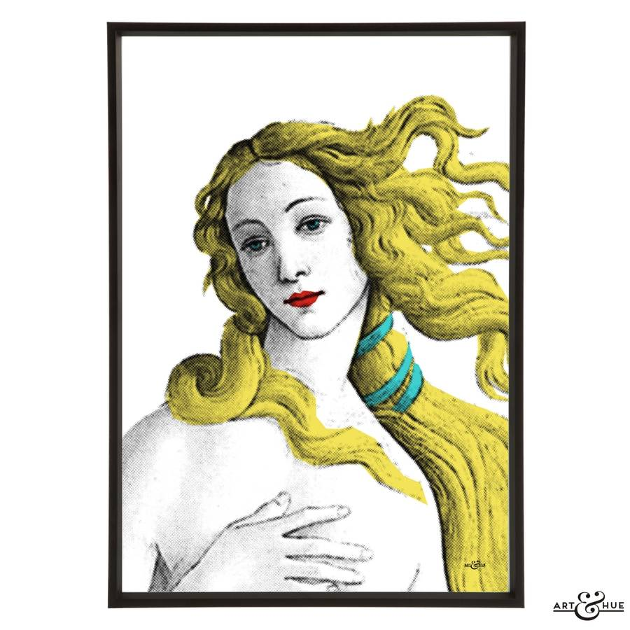 Birth Of Venus Graphic Pop Art Print