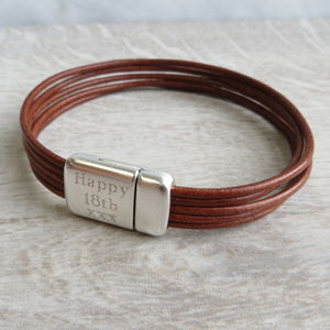 Leather Kingsley Bracelet - bracelets & bangles