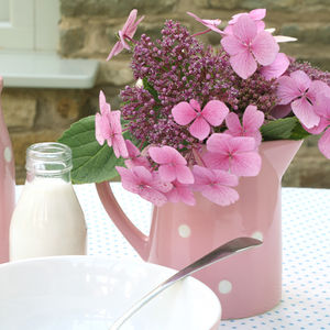 Pink Polka Dot Jug - view all sale items