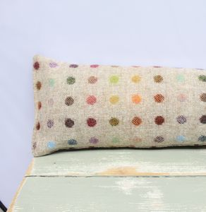 Spotty Wool Draught Excluder - office & study