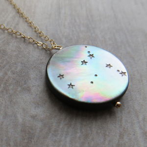 Star Sign Constellation Necklace