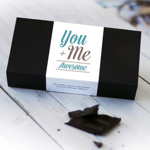 You And Me = Awesome Chocolate Bar Box Set