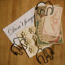 Set Of Three Elephant Paper Clips