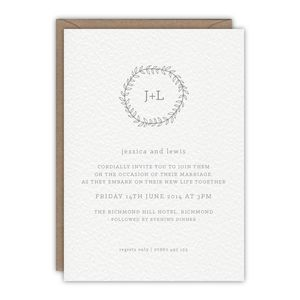 Willow Wedding Invitation