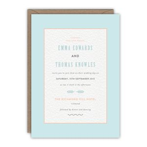 Norma Wedding Invitation - invitations