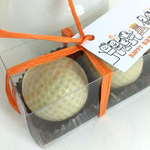 Set Of Three Chocolate Golf Balls In Gift Box - gifts for him