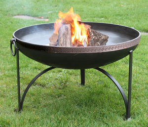 Mosaic Band Plain Jane Firepit - fire pits & outdoor heating