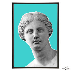 Face Of Venus De Milo Pop Art Print