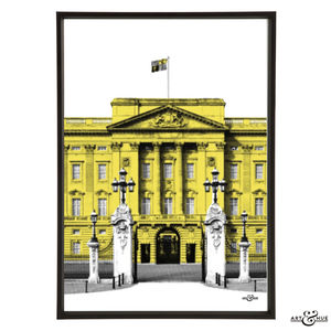 Buckingham Palace Graphic Pop Art Print