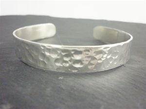 Sterling Silver Polished Bangle - bracelets