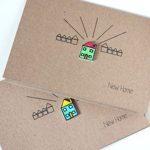 Personalised Little House 'New Home' Card - shop by category