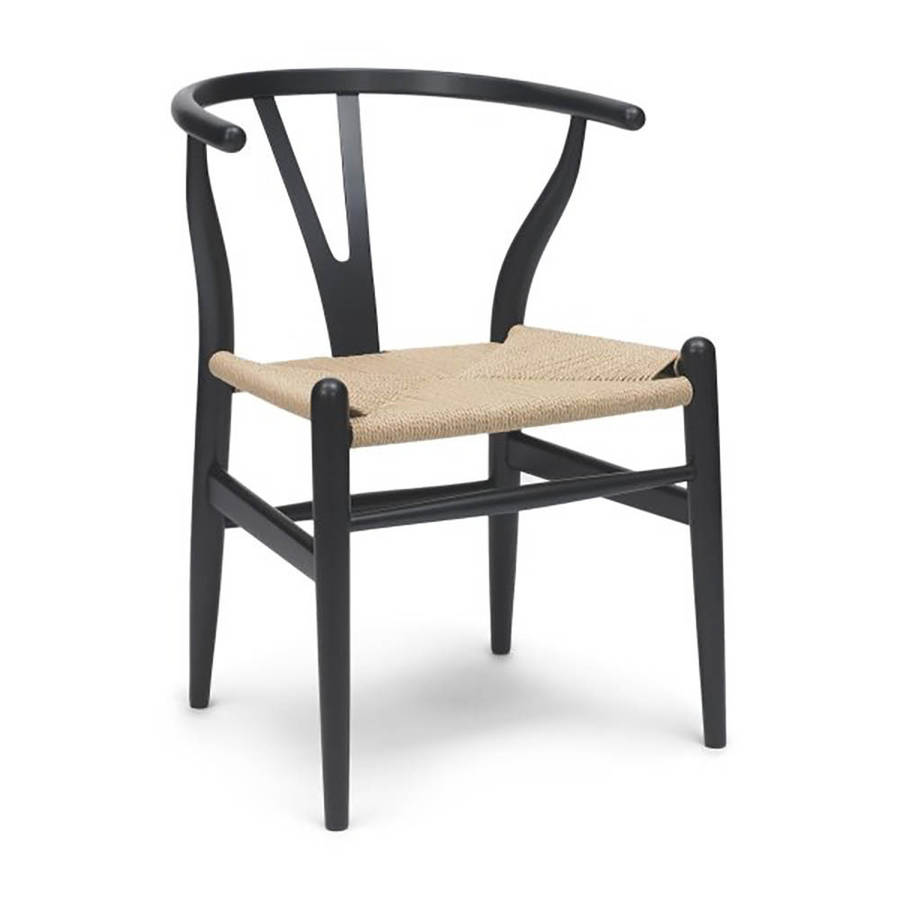 homepage ciel set of four mid century danish style dining chairs