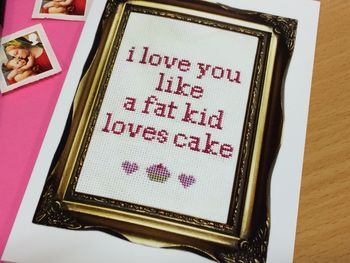 'I Love You Like…' Valentine Card