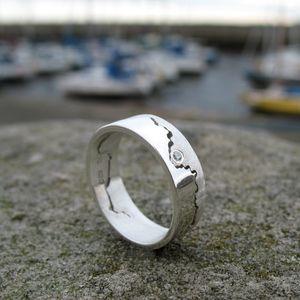 Coast Ring With Diamond - rings
