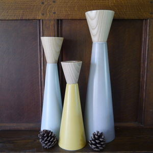 Candlestick In Muted Tones - candles & home fragrance