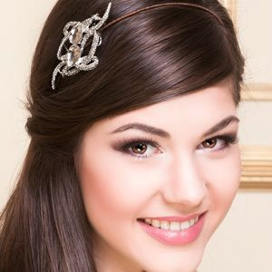 Madison Crystal Bridal Headdress