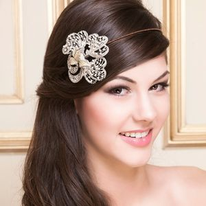 Charis Crystal And Pearl Bridal Headdress