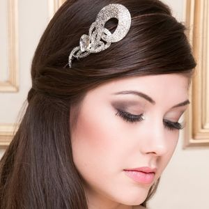 Courtney Crystal Bridal Headdress