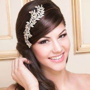 Marly Crystal And Pearl Bridal Headdress