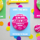 Mexican Fiesta Wedding Save The Date Magnet