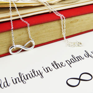 William Blake Infinity Necklace - jewellery sale