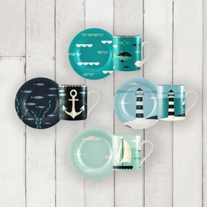 Ahoy! Espresso Set Of Four - kitchen