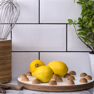 Wooden Fruit Tray - dining room