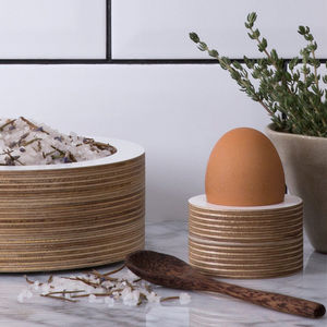 Wooden Egg Cup 2x