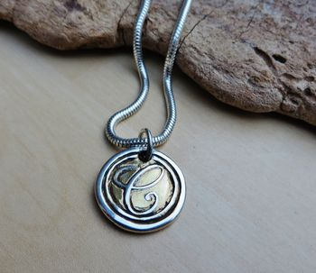 Personalised Wax Seal Pendant