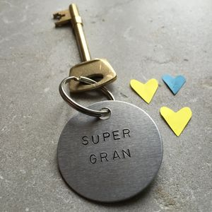 'Super Gran' Grandmother Keyring