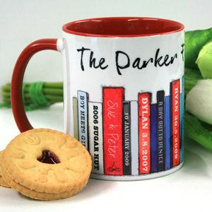 Personalised Book Family Edition Mug