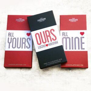 Mine, Yours, Ours Chocolate Bar Box Set