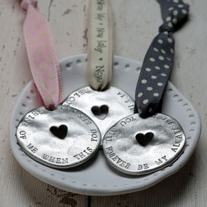 Personalised Love Token - wedding favours