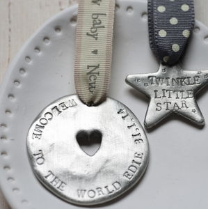 Personalised New Baby Love Token