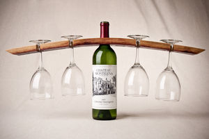 Wine Barrel Stave Butler Double