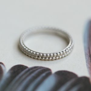Patterned Wedding Ring - rings