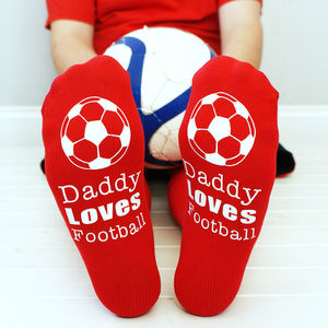 Personalised Men's Football Socks