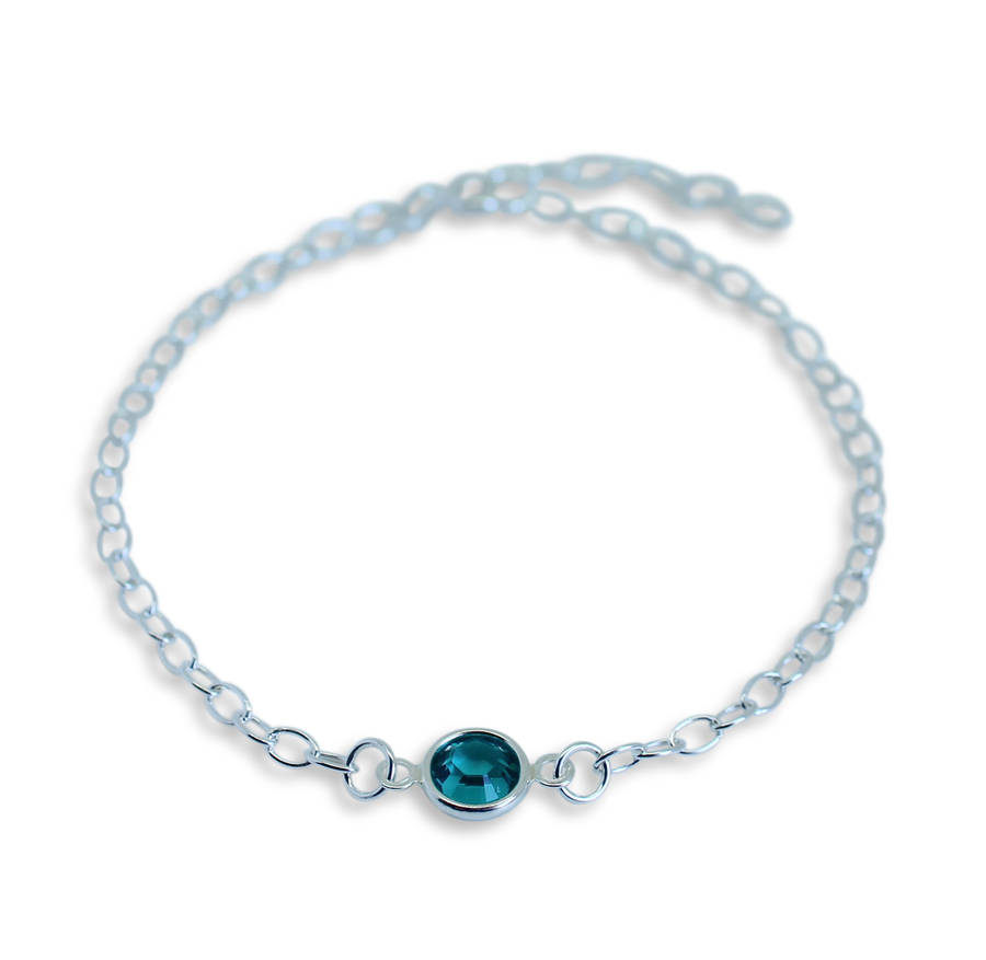 pandora march birthstone bracelet hut the jewel complete